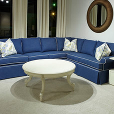 Beach Style Sectional Sofas by Huntington House Furniture