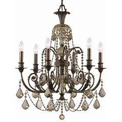 traditional chandeliers by Overstock