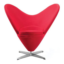 Fine Mod Imports - Heart Chair - Features: