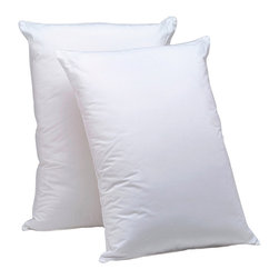 AllerEase - Aller-Ease Hot Water Washable Down Alternative Pillow (Set of 2) - The Aller-Ease Hot Water Washable Pillow is the first pillow to be truly washable and provide protection from the allergens that can collect in your pillow. The unique fiber maintains its shape and refluffs after laundering.