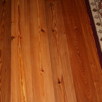 Heart Pine Reclaimed Flooring - Elegance is River Recovered® Heart Pine by Goodwin Heart Pine.