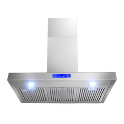 AKDY - AKDY AK-Z62790S Euro Stainless Steel Wall Mount Range Hood - Designed of brushed stainless steel, this traditional Italian design chimney hood will be the main focal point for your kitchen. Brilliant LED lighting provides impressive illumination over and around the cook top. A powerful, yet quiet internal blower will ventilate any smoke, grease, and contaminants. Ductless feature is available.