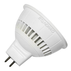 Standard Products - Standard 62466 - 6W 12V MR16 LED Flood, Neutral White, Dimmable - Standard 62466, LED/MR16/6W/FL/30K/12V/38/D. Replaces 35W MR16. Energy Star Qualified.