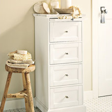 Traditional Bathroom Storage by Pottery Barn