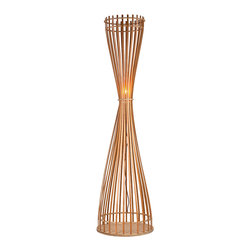 Twig Reed Floor Lamps Light Fixture for Living Room - Dress up your home with stylish and vibarancy by adding such a lovely wooden lamp in your room. Not only does it has a sophisticated appearence and unique design, it also provides adequate light to light up your room.