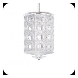 Lalique - Lalique Seville 8 Tiers Medium Chandelier Chrome - Lalique Seville 8 Tiers Medium Chandelier Chrome 1010599  -  Size: 13.39 Inches Long x 22.05 Inches Tall  -  Genuine Lalique Crystal  -  Fully Authorized U.S. Lalique Crystal Dealer  -  Created by the Lost Wax Technique  -  No Two Lalique Pieces Are Exactly the Same  -  Brand New in the Original Lalique Box  -  Every Lalique Piece is Signed by Hand, a Sign of its Authenticity and Quality  -  Created in Wingen on Moder-France  -  Lalique Crystal UPC Number: 090592101056