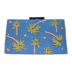 """CocoMatsNMore - CocoMatsNMore Magic L.E.D Doormat Palm Beach - 18"""" X 30"""" - Eco-friendly Coco Mat are hand-woven and  made from 100% natural coir . These coco doormats are designed to last for a long time and are easy to maintain and clean by either shaking or hosing it down. Designed with fade-resistant dyes they are durable enough to withstand the harshness of weather and look good througout the year. Furthermore, they keep your house clean by doing a fabulous job of trapping the dirt, mud and debris right at the doorstep."""