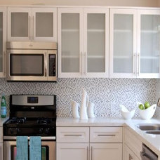Midcentury Kitchen by The Shenbaum Group, Inc.