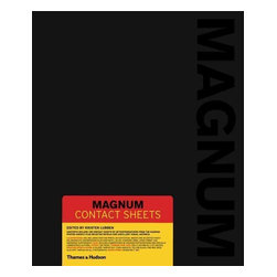 "Thames & Hudson - ""Magnum Contact Sheets"" Hardcover - Available for the first time in a compact edition, this groundbreaking book presents a remarkable selection of contact sheets and ancillary material, revealing for the first time how the most celebrated Magnum photographers capture and edit the very best shots. Addressing key questions of photographic practice, the book illuminates the creative methods, strategies, and editing processes behind some of the world s most iconic images. Featured are 139 contact sheets from sixty-nine photographers, as well as zoom-in details, selected photographs, press cards, notebooks, and spreads from contemporary publications including Life magazine and Picture Post. Further insight into each contact sheet is provided by texts written by the photographers themselves or by experts chosen by the members estates. Many of the acknowledged greats of photography are featured, including Henri Cartier-Bresson, Elliott Erwitt, and Inge Morath, as well as such members of Magnum s latest generation as Jonas Bendiksen, Alessandra Sanguinetti, and Alec Soth. The contact sheets cover over seventy years of history, from Robert Capa's Normandy landings and the Paris riots of 1968 via Bruno Barbey, to images of Che Geuvara by Rene Burri, Malcolm X by Eve Arnold, and portraits of classic New Yorkers by Bruce Gilden.' Offers unique insight into the working progress of the celebrated agency s photographers over the past seven decades their approach to taking and editing their pictures as well as their idiosyncratic relationships with the contact sheet. TIME'"