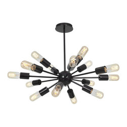 Access Lighting - Access Lighting 55543 Flux 16 Light Pendant - Specifications: