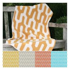 Modern Blankets by Zhush LLC