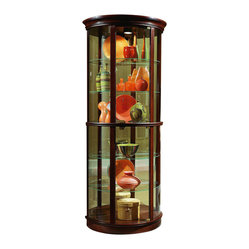 Pulaski Furniture - Half Round Curio by Pulaski Furniture - Half Round Curio by Pulaski ...