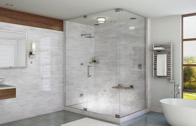 Modern Bath Products by Mr. Steam
