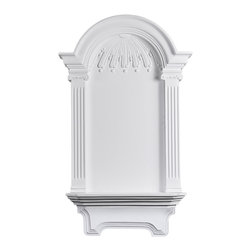 uDecor - NC-4110 Niche - Niches are perfect for displaying a favorite statue or vase while adding interesting architectural elements to any area of a room. Our surface mount niches don't require any modification to existing structure to be installed while our traditional niches will need to have space cleared behind them.