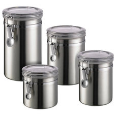 Contemporary Kitchen Canisters And Jars by The Container Store