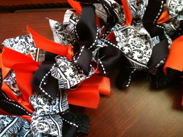 Eclectic Wreaths And Garlands Halloween Ribbon Wreath