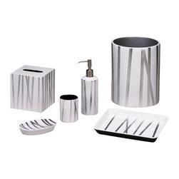 "Belle & June - Grass Styx White/Silver Oval Soap Dish - Dimensions Soap Dish: 6"" x 4"""