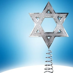 2012 Hanukkah Tree Topper - If your family celebrates multiple holidays during this festive season, maybe this Star of David tree topper is perfect for you.