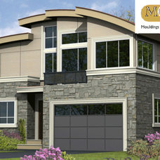Modern Exterior by Mouldex Exterior & Interior Mouldings