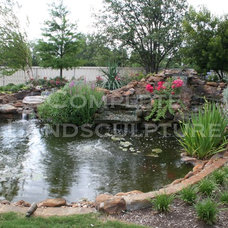 Traditional Landscape by Complete Landsculpture