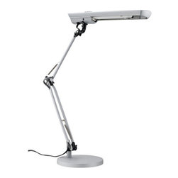 Globe Electric - Globe Electric 56352 1 Light Natural Full Spectrum Sun Light Desk Lamp - Features: