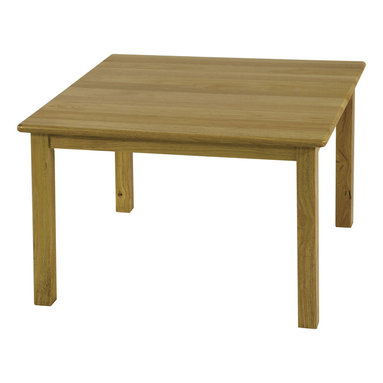 "Ecr4kids - Ecr4Kids Children Classroom 30"" Square Hardwood Table With 22"" Legs - Our heirloom quality 30 square hardwood table with 22 high legs."