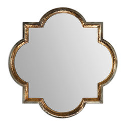 Two Toned Frame Mirror - Two Toned Frame Mirror
