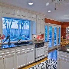 Eclectic Kitchen by Cindy Aplanalp at By Design Interiors