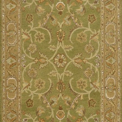 """Dynamic Rugs - Dynamic Rugs Sapphire 4950-432 (Sage, Light Green) 3'6"""" x 5'6"""" Rug - This Hand Tufted rug would make a great addition to any room in the house. The plush feel and durability of this rug will make it a must for your home. Free Shipping - Quick Delivery - Satisfaction Guaranteed"""