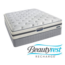 Simmons Beautyrest - Beautyrest Recharge 'Maddyn' Plush Cal King-size Mattress Set - You deserve to wake up refreshed, restored and recharged. This Beautyrest mattress combines the conforming back support of pocketed coils with the comfort of AirCool foams. A layer of plush GelTouch comfort foam helps provide pressure relief.