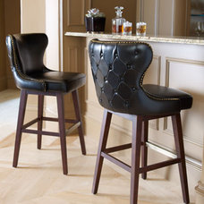 eclectic dining chairs and benches by Neiman Marcus