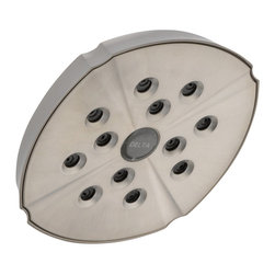 Delta - Addison Rain Can Showerhead in Stainless - Delta RP61265-SS Addison Rain Can Showerhead in Stainless.