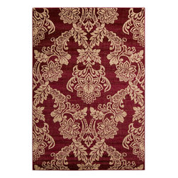 """Riley RLY5042 Rug - 2'3""""x3' - A cross between sophistication and a contemporary, chic look, Surya's Riley collection has a variety of area rugs for your casual or formal area. With cool, soothing colors hues these amazing rugs are an excellent piece to warm the ambiance."""