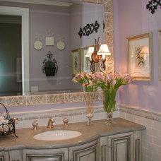 Traditional Powder Room by Kelly Darling Spadoni - Darling Interiors