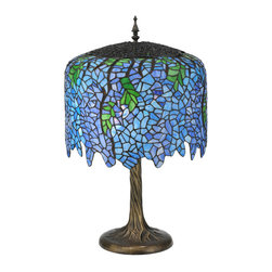 "Meyda Lighting - Meyda Lighting 118689 28""H Tiffany Wisteria Table Lamp - Meyda Lighting 118689 28""H Tiffany Wisteria Table Lamp"