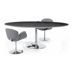 Artifort - Artifort | Circle 3 Oval Dining Table - Design by Pierre Paulin RDI, 2000.