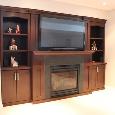 Fireplace Cabinets -