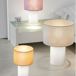 Lopo Floor Lamp By Modiss Lighting - Lopo from Modiss is a series of table and floor lamps with a large round diffuser.