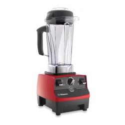 Vitamix - Vitamix 1365 CIA Professional Series Ruby Blender - This 64-ounce capacity blender is versatile enough to chop, juice, puree and grind.
