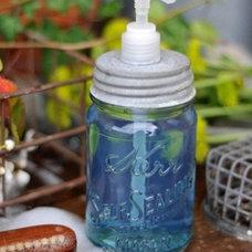 How To Turn A Mason Jar Into A Soap Dispenser Home Hacks