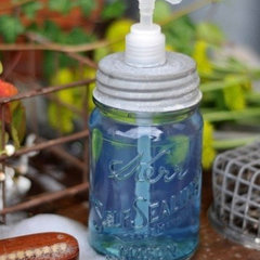 bathroom How To Turn A Mason Jar Into A Soap Dispenser Home Hacks