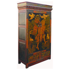 Asian Armoires And Wardrobes by Golden Lotus Antiques