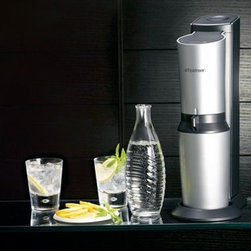 Sodastream - SodaStream Crystal Soda Maker - I realize this gift might seem a little random, but my husband and I received a water carbonator for our wedding, and it was one of best gifts. This kitchen gadget is a must. Not only is it great for the environment, but it also makes a great glass of crisp sparkling water.