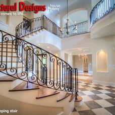 Mediterranean Entry by Architectural Designs