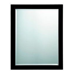 Simplicity Framed Bath Mirror 4 finish choices -