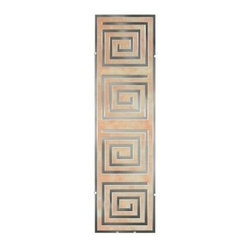 Unbranded - Unbranded Illuminada Geo ll 37.5 in. x 10.25 in. Decorative Wall Light 8814 - Shop for Lighting & Fans at The Home Depot. Decorative wall light features an art glass panel with mirrored accents. When turned on, an Illuminada light fills a room with soft ambient lighting. When light is off, the mirrored design reflects light into a room, and adds a pleasant decorative touch.