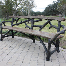 Traditional Benches by Carlos Cortes