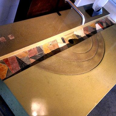 Concrete Free Standing Sink/Vanity - Concept