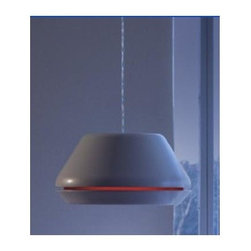 Zaneen - Spool 1-Light Suspension Pendant in Titanium Gray - Ring not included