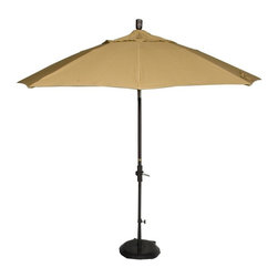 Phat Tommy - Market Patio Umbrella in Brass - The Phat Tommy umbrella is part of our Outdoor Oasis Line. This will ensure your umbrella stays looking brand new, season after season.